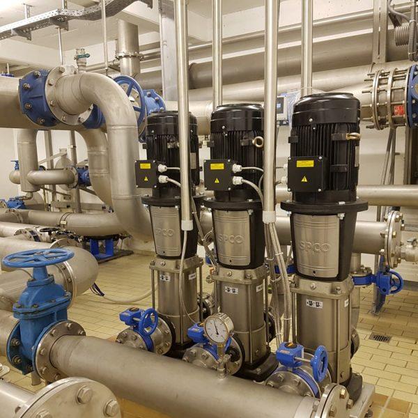 Wasserversorgung Kommune Referenzanlage Region Unterallgäu